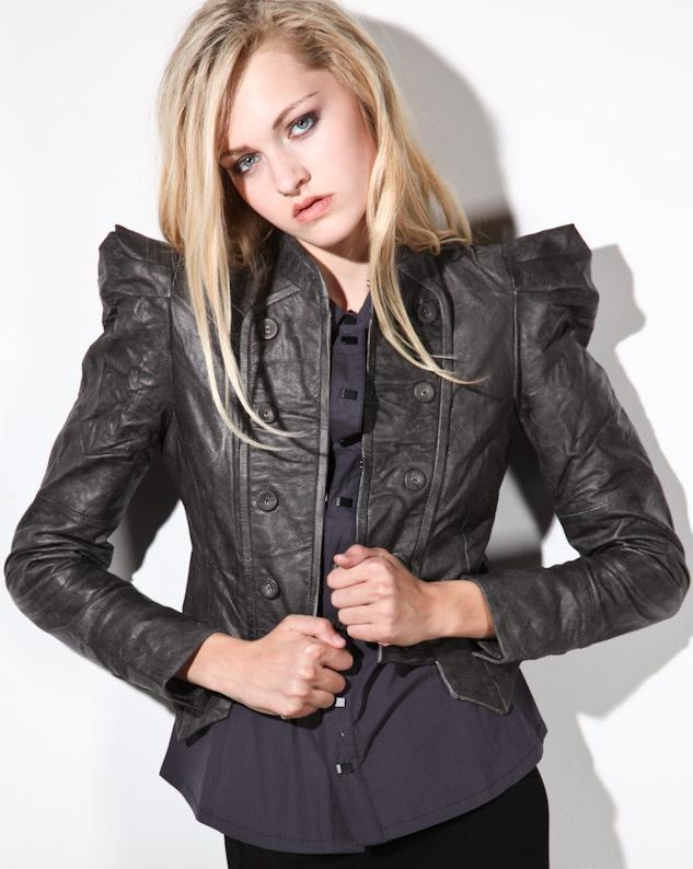 Fashion leather jackets for ladies – Modern fashion jacket photo blog