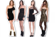 Lace Hip Package Party Dress