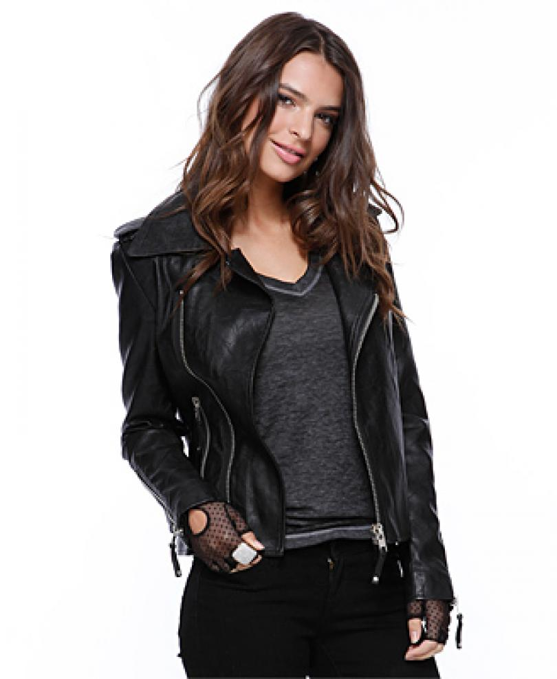 zanzea jackets fashion in 2014 leather jackets for women