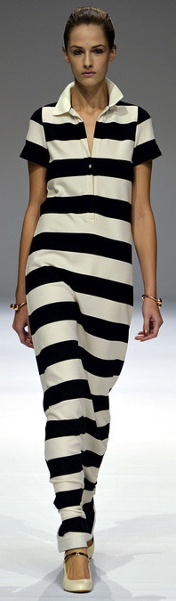 Sexy Bandage Stripes Dress