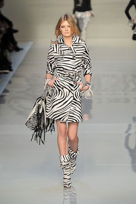 Zebra Striped Outerwear
