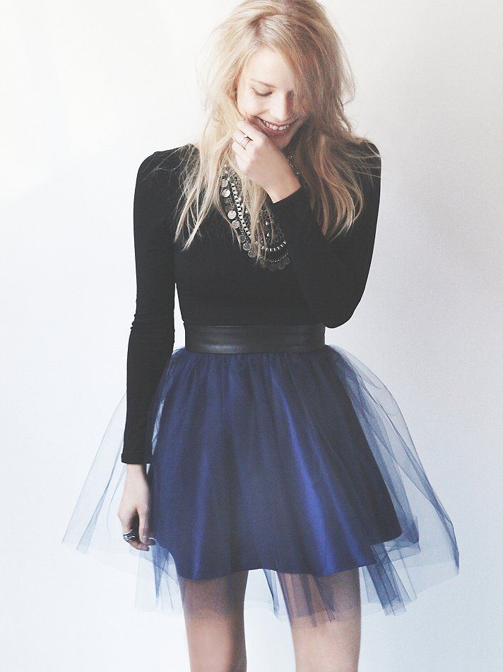 Ruffled knit bubble dress