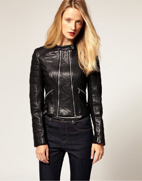 Collection Women Leather Coats Pictures - Reikian