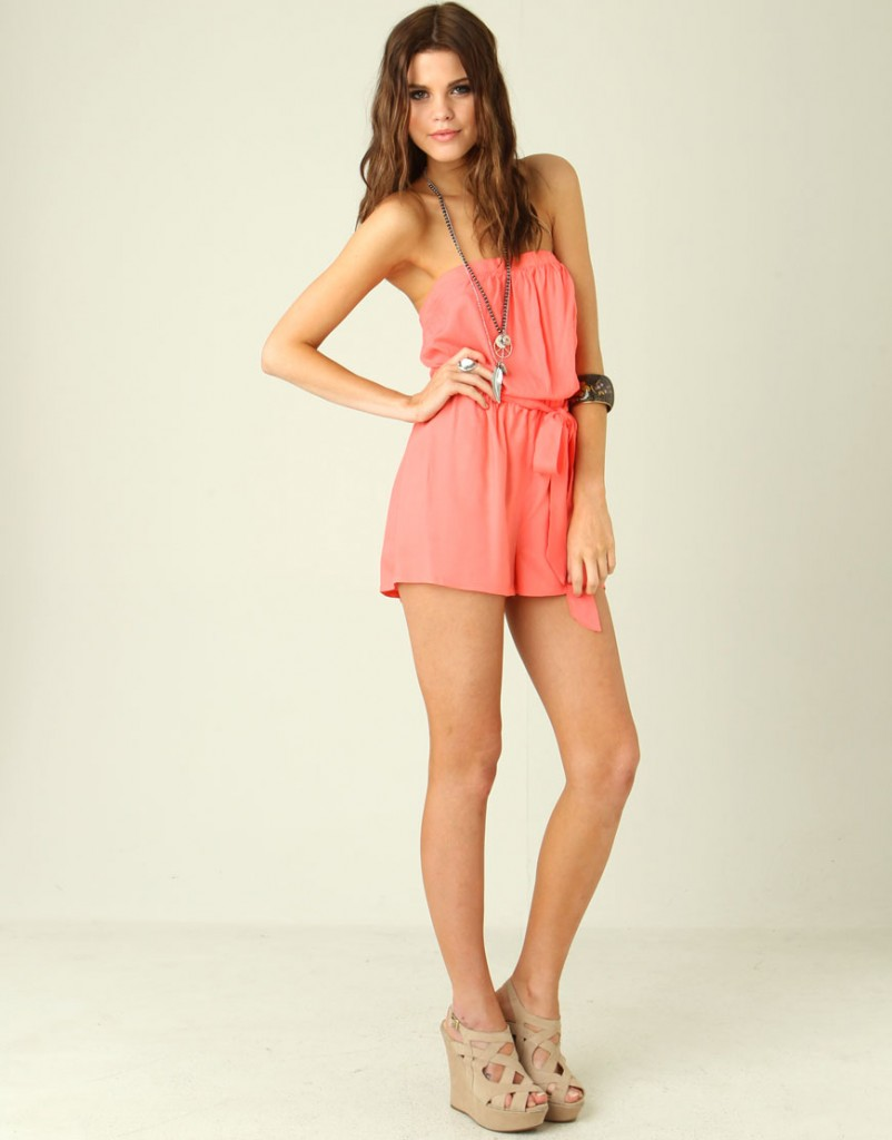 Chiffon Jumpsuits Short Pants