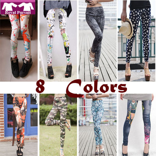 star pattern legging