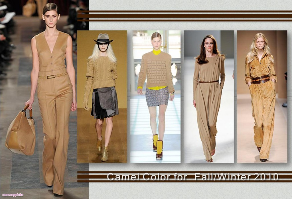 Fashion Inspiration: The Color of Camel