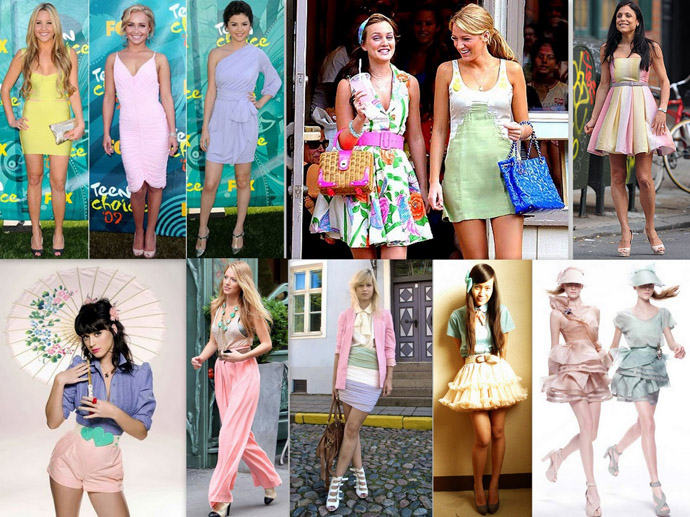 Candy Color Skirt