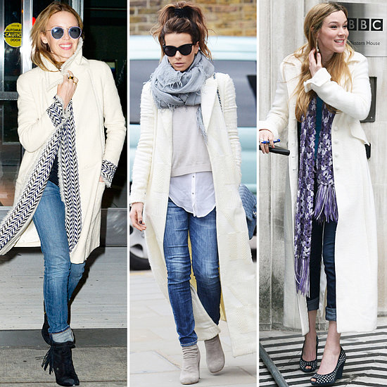 WHITE COAT FASHION 2014 - Slim Fashion