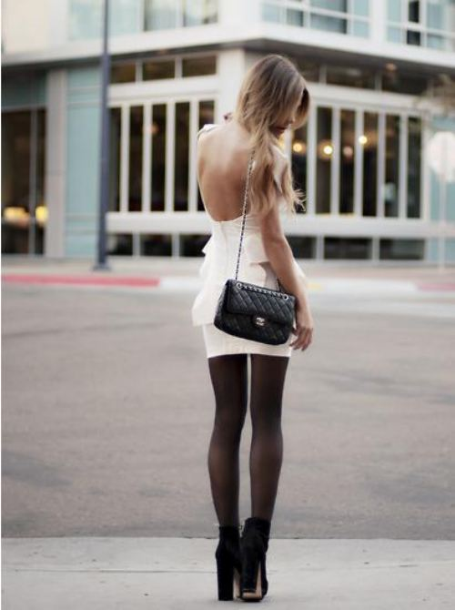 backless fashion
