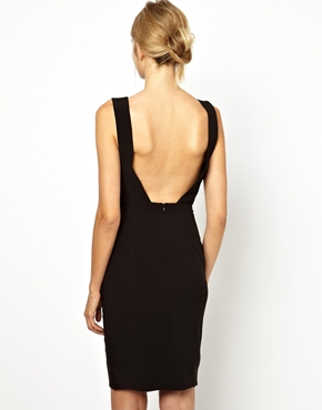 Sexy Back Deep V Shirt