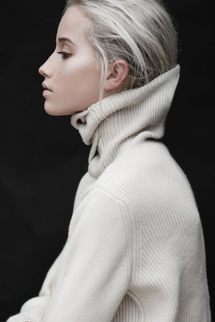 High Collar Pullover Sweater