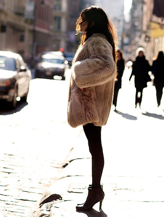 Fall Winter Furry Coat
