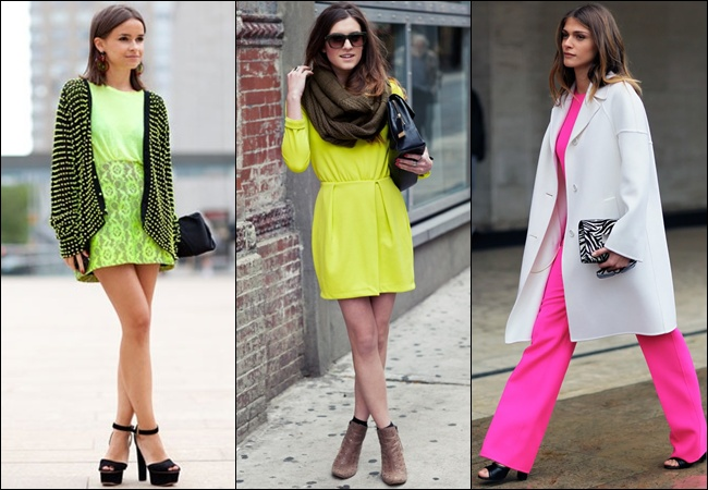 Fashion and Fluorescence