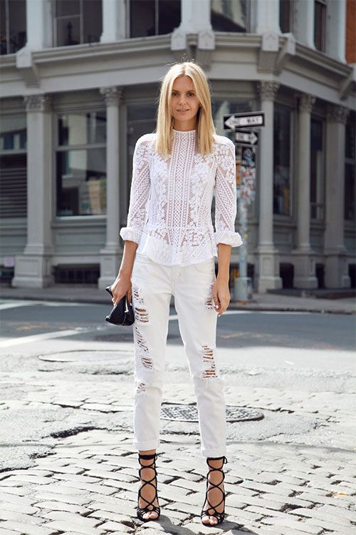 All White Fashion