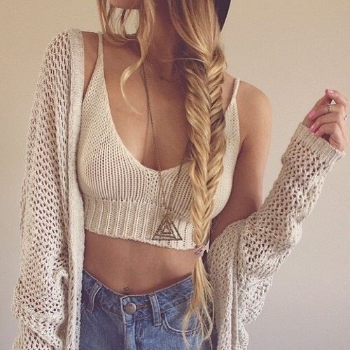 KNIT CROCHET Tops