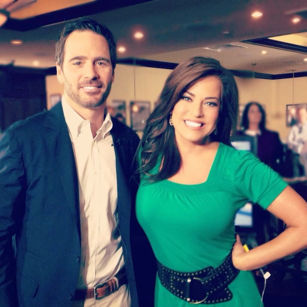 Robin Meade and Tim Yeager