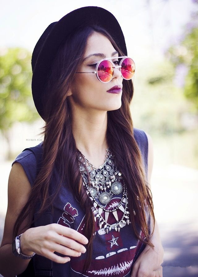 fashion of sunglasses