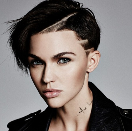 Ruby Rose's fashion