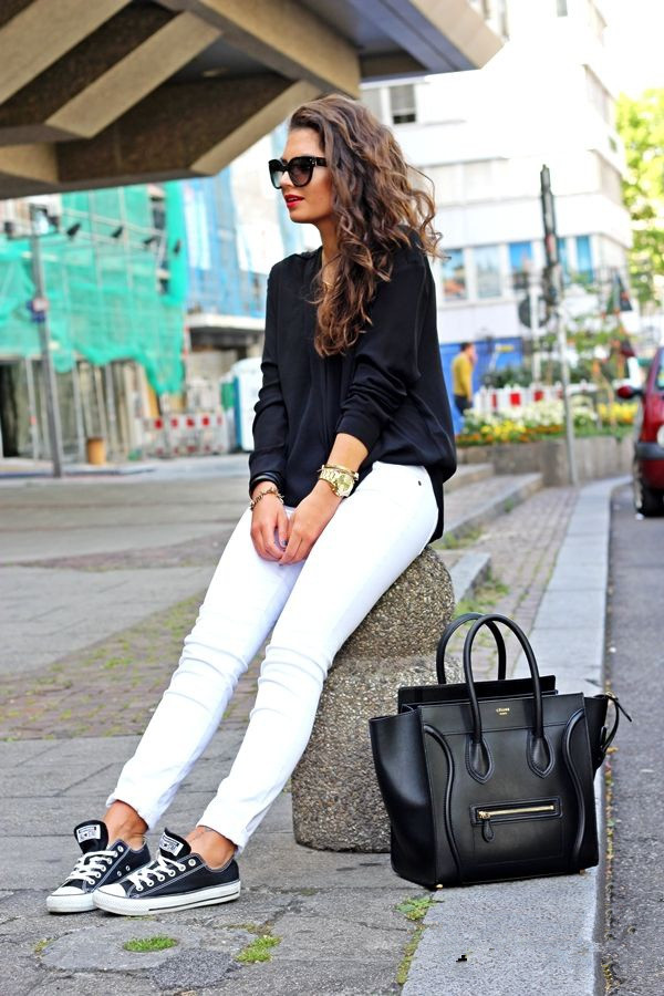 White Jeans Fashion - Slim Fashion