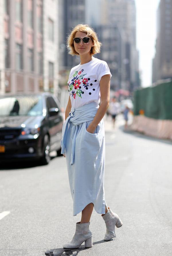printed t-shirt fashion