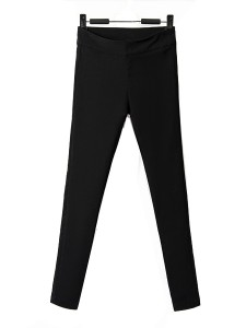 black pencil pants