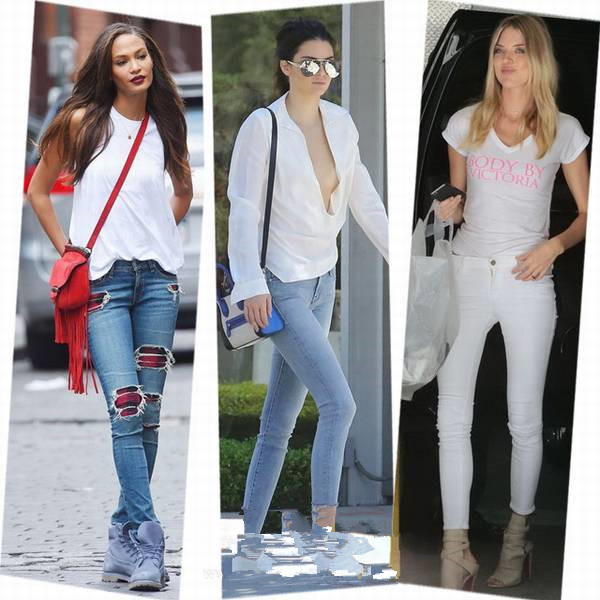 autumn jeans fashion