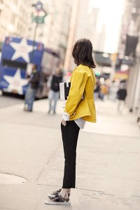 Yellow fashion