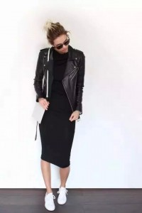 black jackets fashion