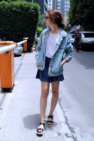 denim coats showing