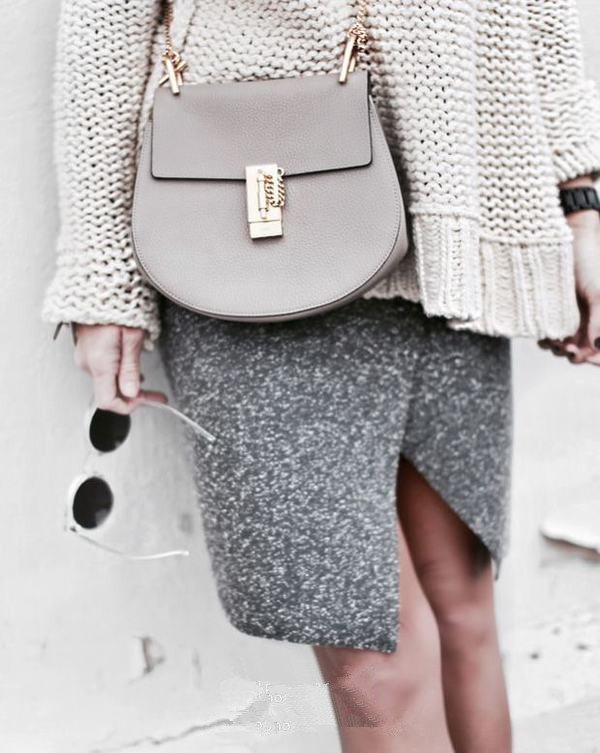 gray fashion