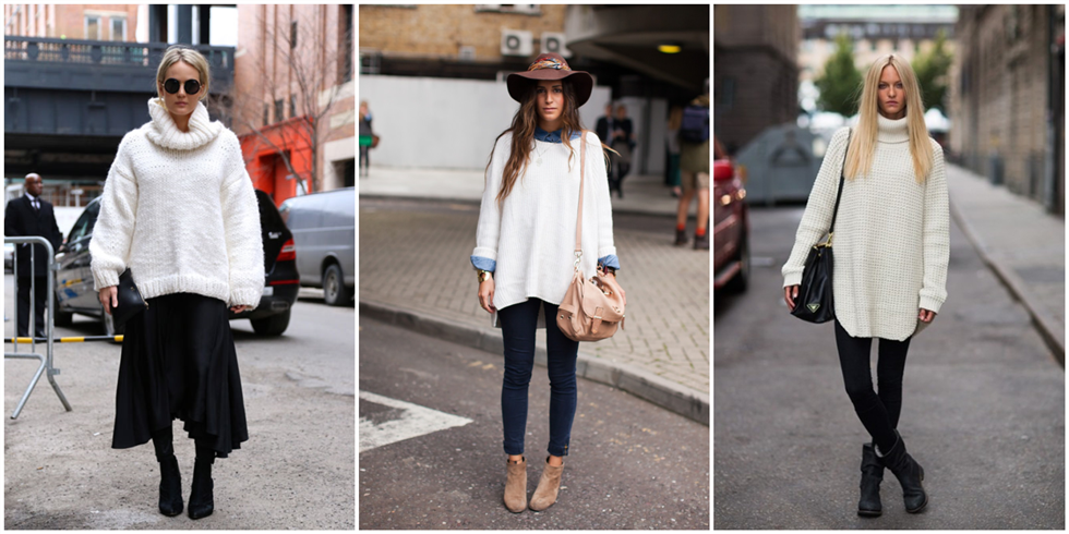 pure color long sweater
