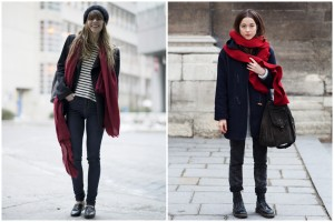 cheap red scarf