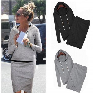 Women casual two-piece tracksuit