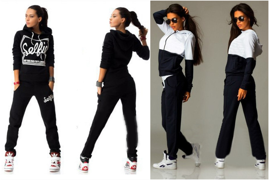 Casual Women two-piece tracksuit