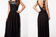 women lace maxi dress